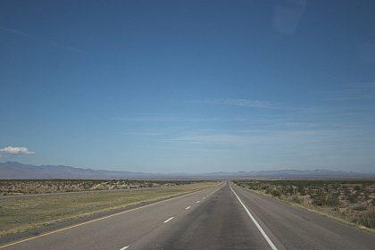 Interstate 25 nach Albuquerque