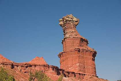 Lighthouse Rock im Palo Duro Canyon