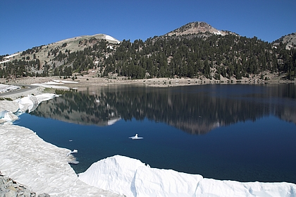 Lake Helen im Lassen Volcanic National Park