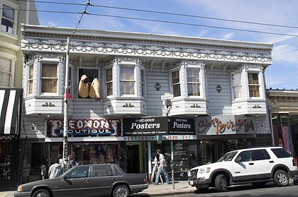 Gebäude in Haight Ashbury