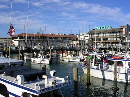 Yachthafen an der Fishermans Wharf