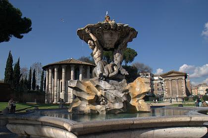 Brunnen vor der Santa Maria di Cosmedin