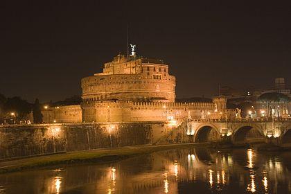 Castel St. Angelo am Abend