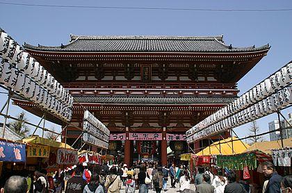 Sensoji-Tempel in Asakusa
