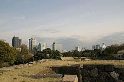 Östlicher Park des Kaiserpalastes