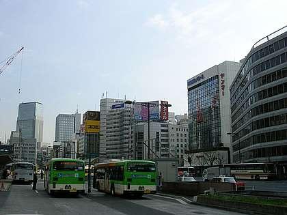 Hauptstraße an der Tokio Station